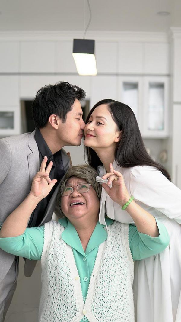 Sau khi hạ sinh con gái đầu lòng, Lan Phương đã nhanh chóng quay lại nghiệp diễn với bộ phim Nàng dâu order.