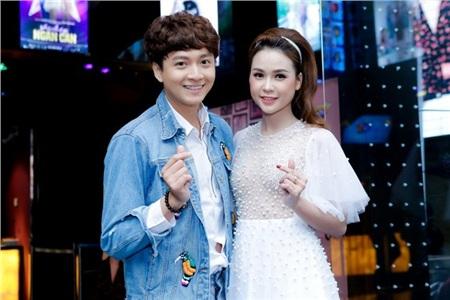Nữ MC xinh đẹp đã lên tiếng phủ nhận thông tin hẹn hò với Ngô Kiến Huy.