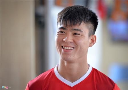 Tiền vệ Đỗ Duy Mạnh là một cái tên hot nhất nhì đội tuyển bóng đá Việt Nam