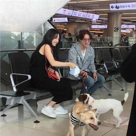 Ngồi cạnh idol nữ, diện đồ không thể đơn giản hơn nhưng Heechul vẫn cứ phải 'chặt chém' Sohye hết mức.