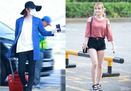 Chỉ qua tính cách của cả hai cũng đã phần nào đoán được phong cách thời trang riêng của từng người.
