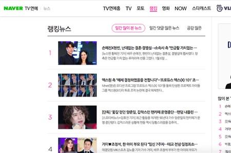 Tin đồn cặp đôi sắp kết hôn leo lên thẳng top 1 Naver