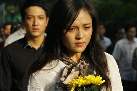 Thu Quỳnh - Chí Nhân trong phim'Sống cùng lịch sử'.