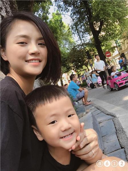 Sau ly hôn, Thu Quỳnh được quyền nuôi con.