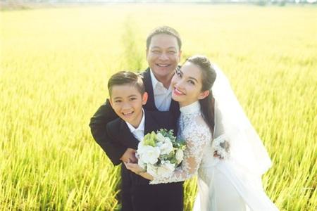 Kim Hiền và người chồng Việt KiềuAndy.