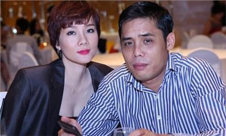Dương Yến Ngọc với người chồng thứ hai.