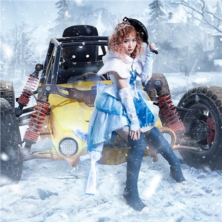Lena cũng nhận được rất nhiều hợp đồng quảng cáo trong năm vừa qua