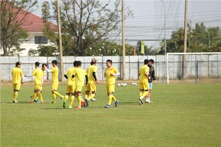Sau trận đấu với U23 UAE ngày hôm qua (10/1), U23 Việt Nam trở lại tập luyện để chuẩn bị cho trận đấu tiếp theo.