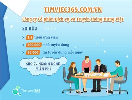 Timviec365.com.vn - Công ty Cổ phần Dịch vụ và Truyền thông Hưng Việt