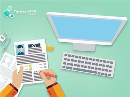 Tạo CV xin việc tại Timviec365.com.vn