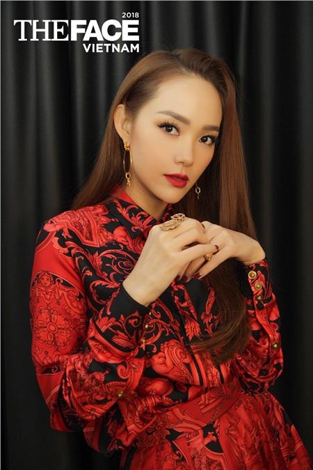 Minh Hằng tại The Face 2018