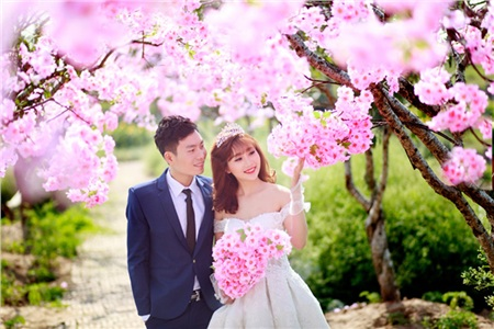 Mãn nhãn những bộ ảnh cưới gọi xuân về, nhìn là chỉ muốn lấy chồng ngay thôi! 1