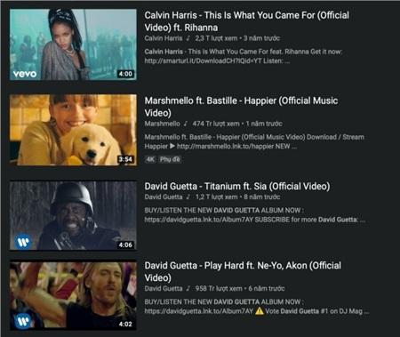 Thật ra lời giải thích của K-ICM không phải không có lý. Những sản phẩm âm nhạc được Calvin Harris, David Guetta hay Marshmello sản xuất, đăng tải trên kênh Youtube riêng đều đặt tên của họ lên đầu tiên. Các nghệ sĩ đình đám như Ne-Yo, Rihanna hay Sia cũng phải cam chịu phận 'đứng sau'.