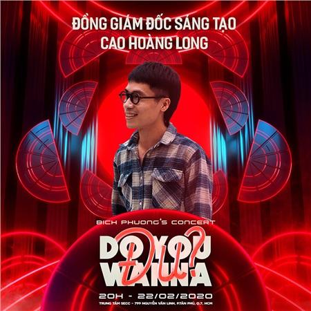 'Bạch Liên' Denis Đặng sẽ là giám đốc sáng tạo trong concert 'Do you wanna đu' của Bích Phương 2