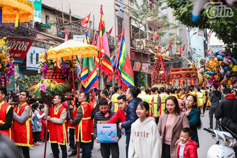 Lễ hội rước pháo truyền thống làng Đồng Kỵ (Bắc Ninh): Cầu mong một năm mới phát tài phát lộc 4