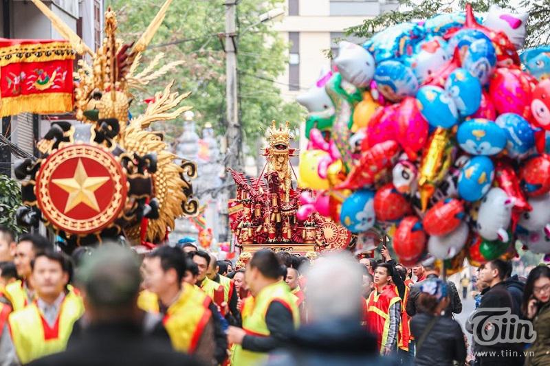 Lễ hội rước pháo truyền thống làng Đồng Kỵ (Bắc Ninh): Cầu mong một năm mới phát tài phát lộc 5