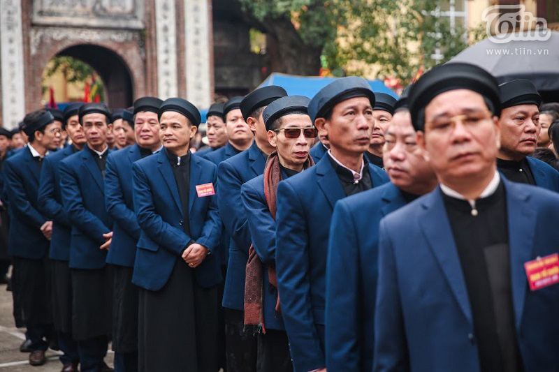 Lễ hội rước pháo truyền thống làng Đồng Kỵ (Bắc Ninh): Cầu mong một năm mới phát tài phát lộc 11