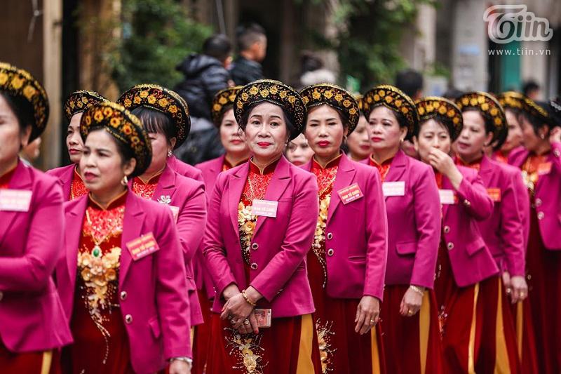 Lễ hội rước pháo truyền thống làng Đồng Kỵ (Bắc Ninh): Cầu mong một năm mới phát tài phát lộc 15