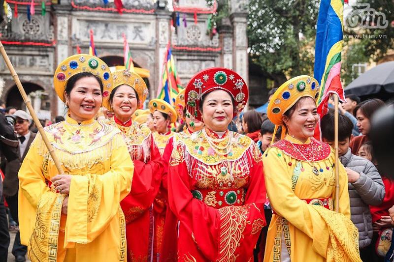 Lễ hội rước pháo truyền thống làng Đồng Kỵ (Bắc Ninh): Cầu mong một năm mới phát tài phát lộc 16