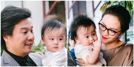 Vợ chồng Thanh Bùi và hai bé Khải An, Kiến An trong một lần hiếm hoi lộ diện cách đây gần 3 năm.