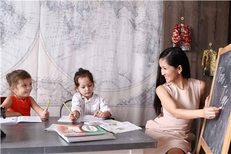 Mê mẩn trước những cặp song sinh đẹp như thiên thần của sao Việt 22