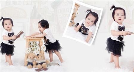 Mê mẩn trước những cặp song sinh đẹp như thiên thần của sao Việt 26