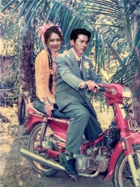 Son Ye Jin - Hyun Bin cũng phù hợp với concept ảnh cưới 'những năm 90' này đấy chứ!