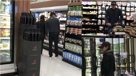 Son Ye Jin - Hyun Bin bị bắt gặp khi đi siêu thị.