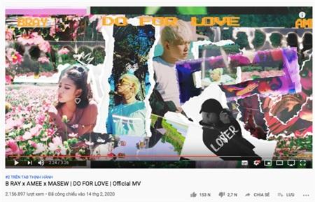 MV 'Do for love' lọt Top 2 Trending sau 48h ra mắt, B Ray 'úp mở' về màn hợp tác cùng Đức Phúc 1