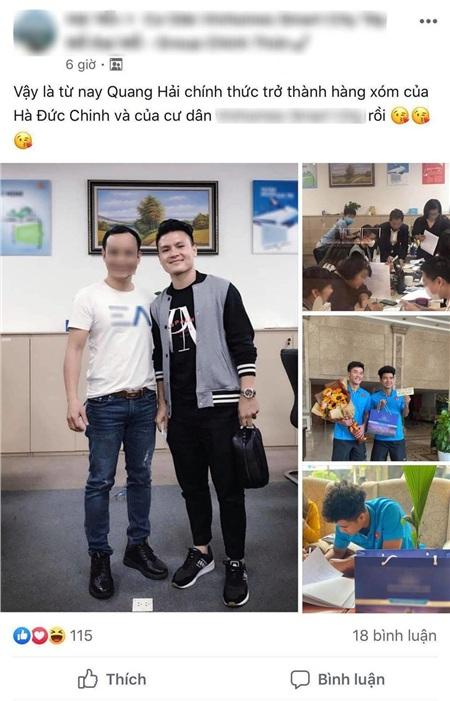 Quang Hải tậu nhà bạc tỷ ở tuổi 23.