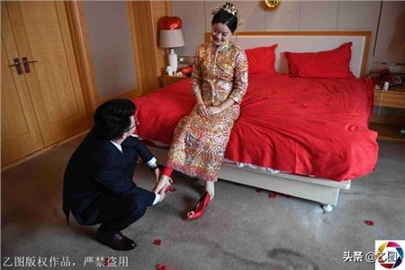 Hôn lễ ngọt ngào của cô dâuĐoạn Húc Húc và chú rểNgô Thường Bân
