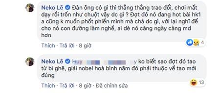 Những dòng chia sẻ của đạo diễn Neko Lê'bóc phốt' Nguyễn Trọng Tài.