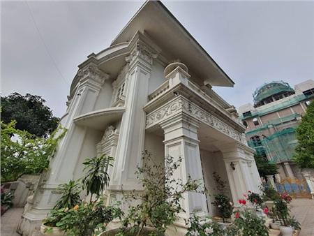 Căn biệt thự nổi bật ở Hải Dương trị giá 26,6 tỷ đồng.