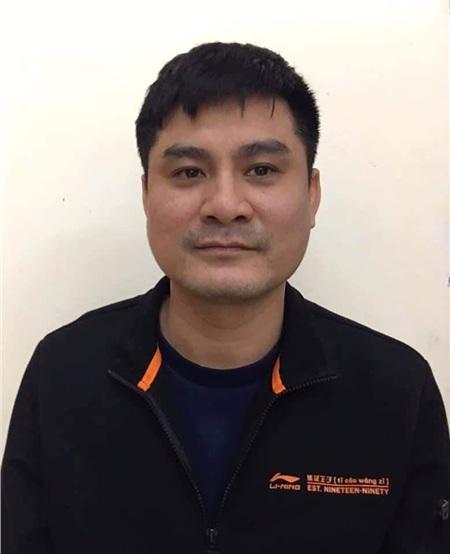 Phí Văn Huấn- đối tượng cầm đầu đường dây đánh bạc qua game Đế chế. Ảnh: VTC News