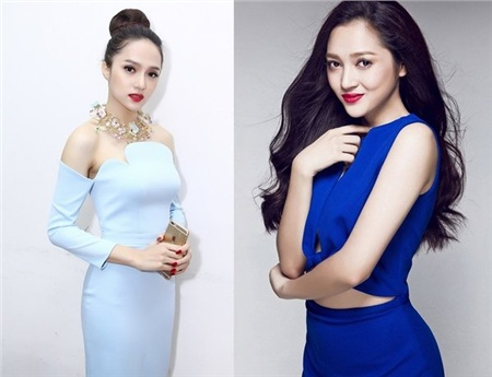 Hương Giang và Bảo Anh.
