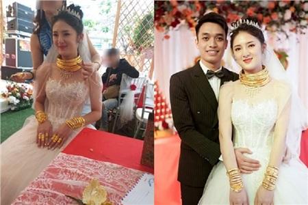 Cô dâu Lệ Giang xinh như hotgirl trong đám cưới xa hoa.