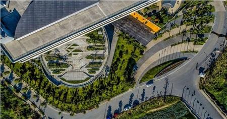 Cận cảnh kiến trúc hoành tráng, sang chảnh của ĐH Văn Lang cơ sở 3 khiến giới trẻ trầm trồ xin được đi học 0