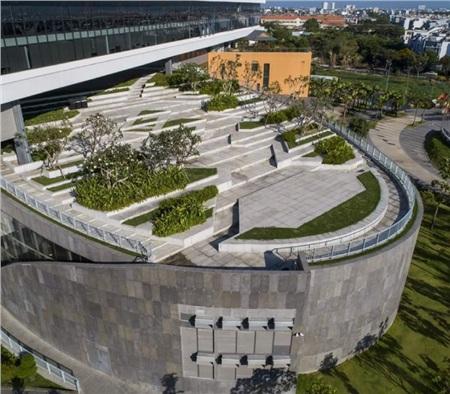 Cận cảnh kiến trúc hoành tráng, sang chảnh của ĐH Văn Lang cơ sở 3 khiến giới trẻ trầm trồ xin được đi học 2