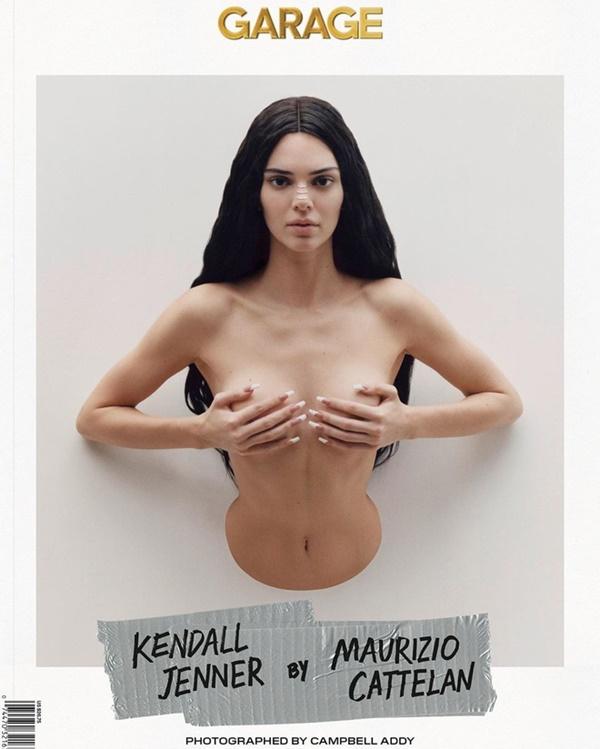 Kendall Jenner xuất hiện với tạo hình mới cực mới lạ cùng với ekip chụp ảnh tài tình. Hầu hếtcác bức ảnh đều chụp từ nửa thân trên, dính chặt vào tường cùng với biểu cảm bí hiểm.
