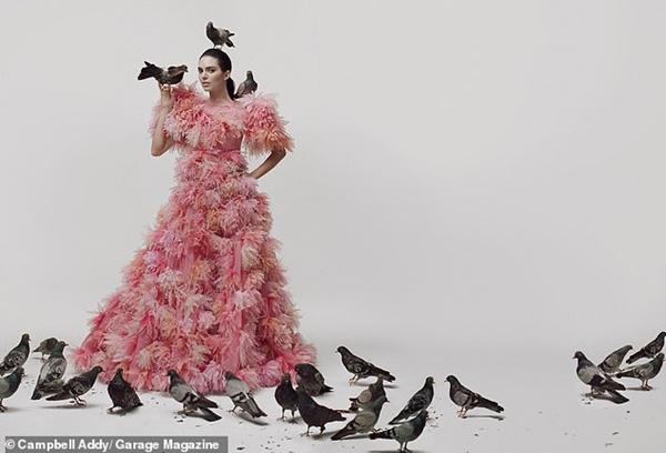 Kendall Jenner chứng minh nhan sắc 'vượt mọi chuẩn mực cái đẹp', chụp ảnh bán nude nhưng không hề phản cảm 7