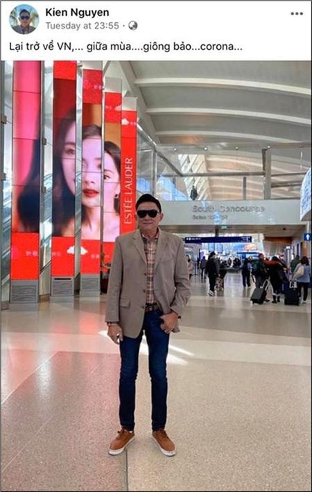 Bố của Tóc Tiên từ Mỹ trở về