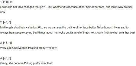 Đổi tóc đổi cả make up, 'cỗ máy nhảy' của IZ*ONE bị nghi vấn phẫu thuật thẩm mỹ 6