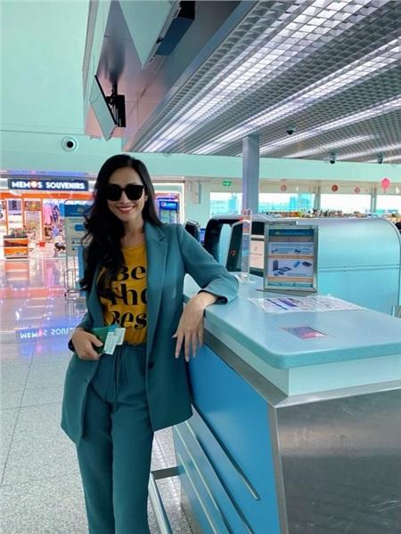 Hoài Sa chính thức lên đường sang Thái Lan thi Hoa hậu Chuyển giới Quốc tế 2020 2