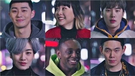Những thanh niên cá tính của khu phố Itaewon.