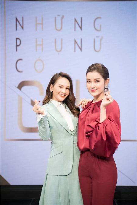 Mới đây, nàng 'xính lao' Bảo Thanh vàÁ hậu Huyền Myxuất hiệntrong chương trình'Những phụ nữ có gu'của đài VTV6 với vai trò khách mời.