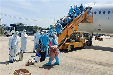 Đoàn khách 20 người Hàn Quốc đi từ Daegu đang được cách ly.