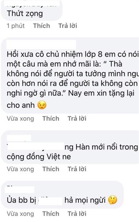 Nhiều người sẵn sàng unfollow vì cho rằng BB là một người nghệ sĩ Việt không xứng đáng