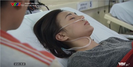Cô được đưa đến bệnh viện kịp thời.