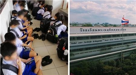 Các học sinh tại trườngPhraharuthai Donmuang được nghỉ 2 tuần.