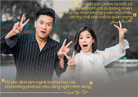 Quách Ngọc Tuyên - Hoàng Yến Chibi: 'Gã trai bao' bị 'nữ xe ôm bụi bặm' ghét ngay từ đầu và gây khó dễ khi đóng 'Cuốc xe nửa đêm' 3